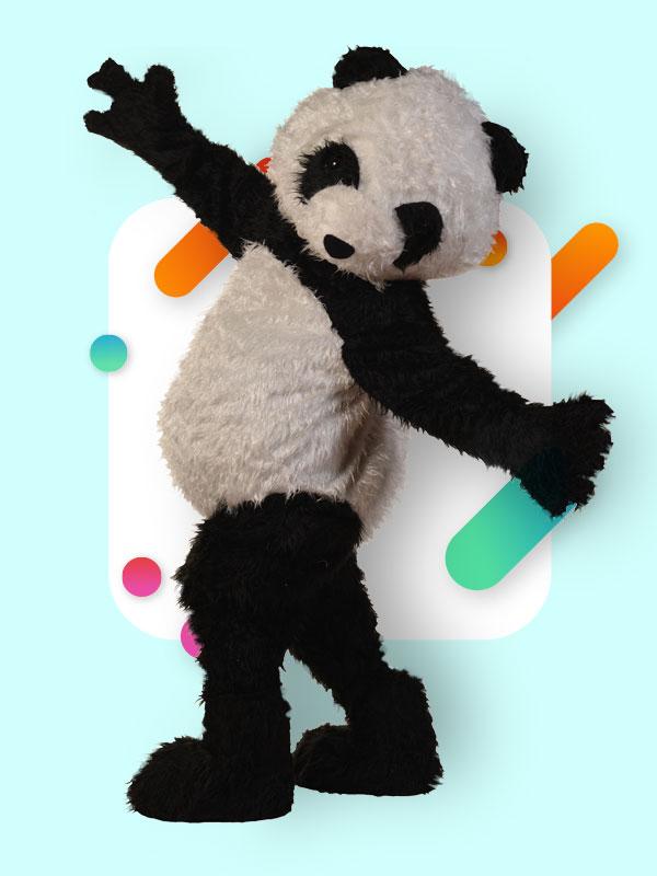 Maskota panda