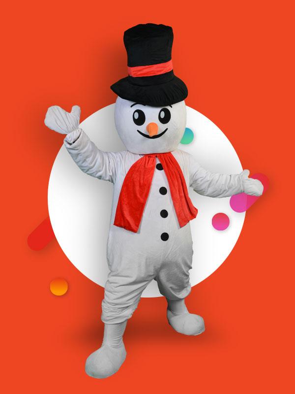 Maskota snowman